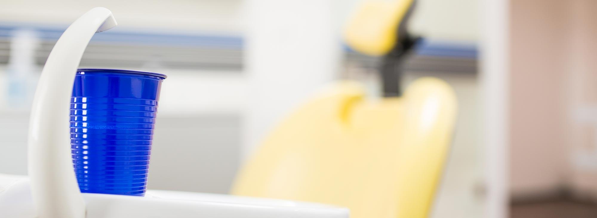 Inneneinrichtung der Behandlungsräume der Zahnarztpraxis im Wengentor in Ulm