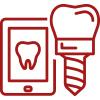 Digitale Planung für Ihre Behandlung mit festen Zähne an einem Tag in Ulm.
